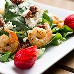 Grilled Jumbo Shrimp Salad