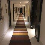 Nice hallway on the guest room floor.