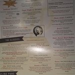 breaky menu