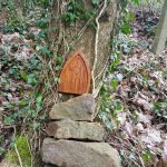 One of my many favorite of the fairy homes. Tread lightly!