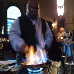 Edwin's Bananas Foster Tableside Preparation