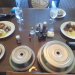 Breakfast (Room Service) - Omelet and Steak & Eggs