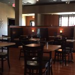 Attractive dining area at Cafe del Sol