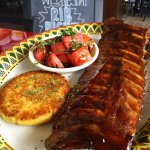 Baby Back Rib Dinner (Only $9.99 Every Wednesday 4pm - close with purchase of a beverage)