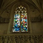 Vitrail de la Chapelle où repose Léonard de Vinci