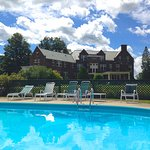 Splash into summer at the Wilburton Inn's sparkling outdoor pool.