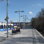 Olympic stadium S-line station
