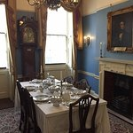 Dickens' dining room