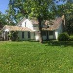 The little white farmhouse