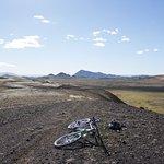 Mountain Bike rental by lake Myvatn