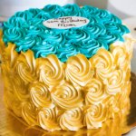 Dewey's Bakery Birthday Cake