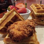 Brunch Item - Chicken and Waffles!