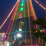 Central shrine of Simhachalam Temple.