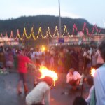 A festival at Simhachalam Temple.