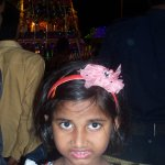 At Simhachalam Temple.