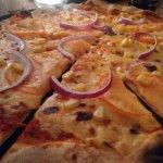 My vegan pizza