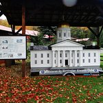 Model of Vermont State House on display