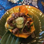 Beef tenderloin in papaya - delicious!!