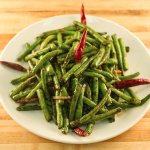 Spicy Green Beans - Vegetarian