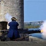 Live cannon fire demo