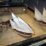 ships in glass