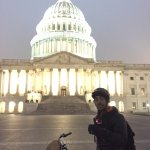Amazing time with Bo on a night tour. there truly is nothing like going 20mph in DC at night wit