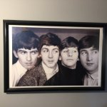 Four English lads inbathroom photo. Food delicious, reasonably priced. I  had Japanese eggplant