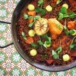 Chorizo y Pollo - Chorizo | Chicken | Peas | Hen of the Wood | Salmorra