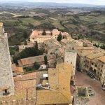 Torre Rognosa vista da Torre Grossa, ano 1200.