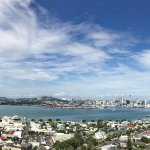 Auckland from scenic overlook