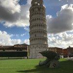 Photo de La tour de Pise (Campanile)