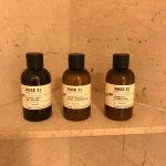 Le Labo bath amenities
