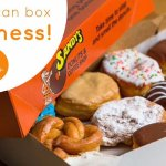 A box of Sandy's Donuts will always put a smile on someones face.