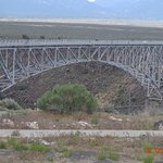 Rio Grande Gorge Bridge on US64 NW of Taos