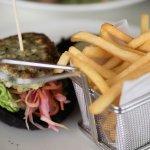 Squid burger