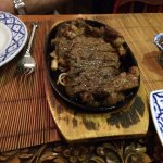 Sizzling fillet of beef