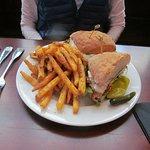 grilled chicken club $11