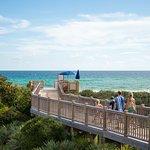 Boardwalk to WaterColor Beach