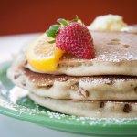 Orange-Pecan Pancakes