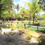 Jardim e paisagismo interno.