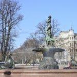 Esplanadi fountain, Helsinki