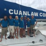 Our over the top Cuan Law Crew! Jaime's captain now!