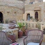 terrace where we had breakfast