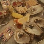 Oysters on half shell (Market price for March was $9.99 for half dozen)