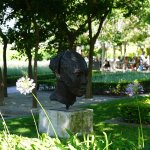 Art in the garden - Grande Provence - one of the nicest vineyards we visited