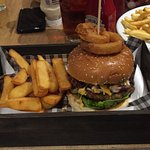 Blush Royale burger......nice and spicy.