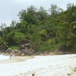 une vue de la plage Georgette