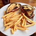 Reuben sandwich plate