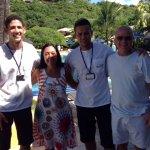 Rai, Sintia, Idelson y Jorge