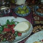 Falafel Entree & pickled chilli & olive